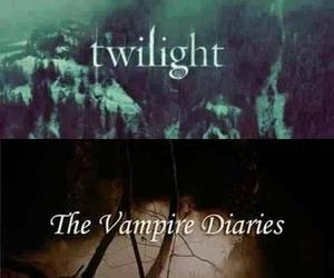 twilight, the vampire diaries, and ian somerhalder image