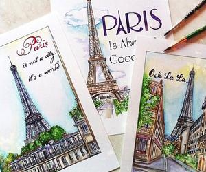 drawing and paris image