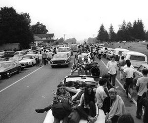 woodstock and cars image