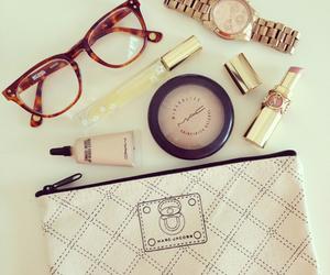 mac, glasses, and makeup image