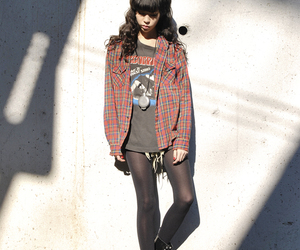 asian fashion, street snap, and dr martens image