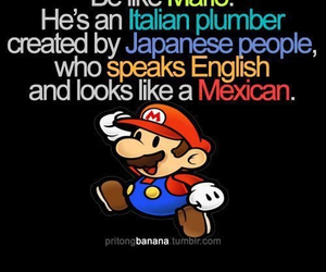 mario, funny, and mexican image