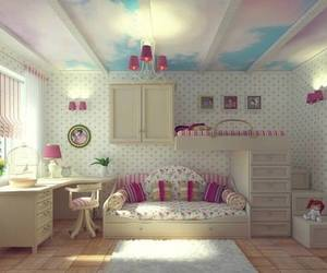 bedroom, teenage, and white image