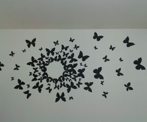 awesome, butterflies, and decor image