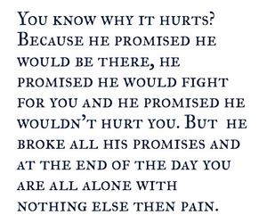 broken, heartbreak, and hurt image