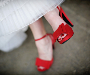 red shoes image