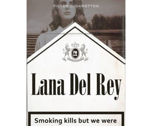 lana del rey, smoke, and born to die image