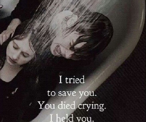 tate, violet, and quote image