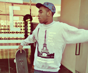 tyler the creator, skate, and paris image