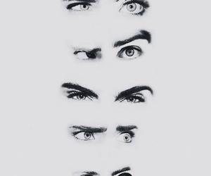 cara delevingne, eyes, and model image
