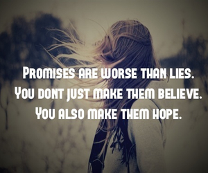 hope, promise, and lies image