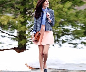 preppy, snow, and sarah vickers image