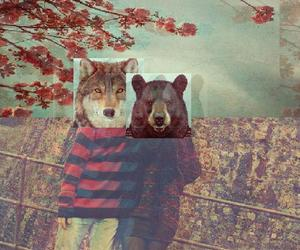 animals, trash, and Collage image