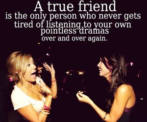 friendship, drama, and friends image