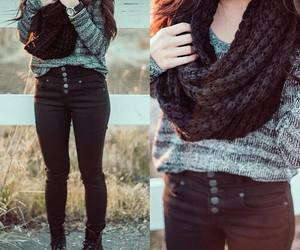 outfit and scarf image