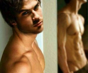 abs, ian somerhalder, and Hot image