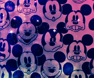 Swag Mickey Mouse Galaxy Wallpaper