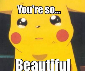 beautiful, pikachu, and what i think image