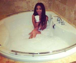 girl and bath image