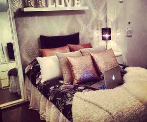 apple, bedroom, and lovely image