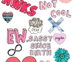 sassy, wallpaper, and not cool image