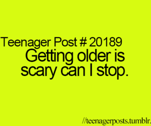 scary, teenager post, and stop image