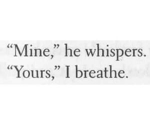 love, mine, and quote image