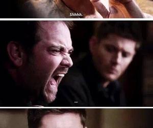 supernatural, crowley, and dean image