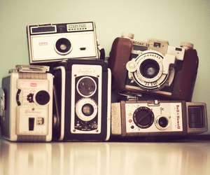 camera, new, and old image
