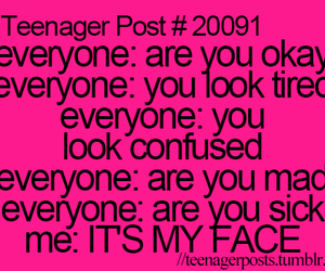 teenager post, face, and teenager image