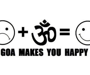 goa and happy image
