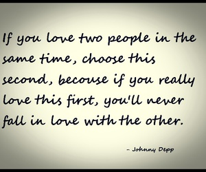 love and johnny depp image