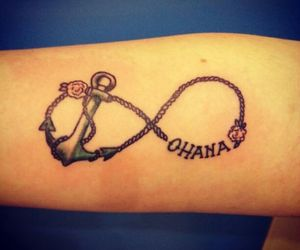 tattoo, family, and infinity image