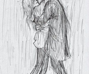 couple, drawing, and cute image