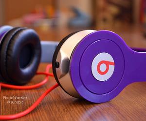 beats, music, and purple image
