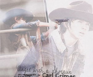 thewalkingdead, love, and carlgrimes image