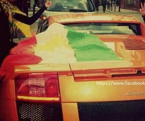 car, lambo, and kurdistan image