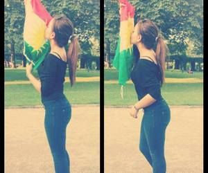 girl, kurdish, and kurdistan image