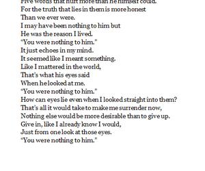 alone, heart broken, and hurt image