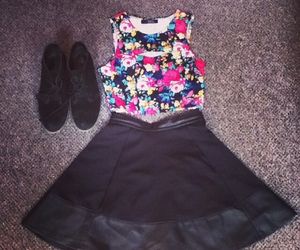 bustier, clothes, and fashion image