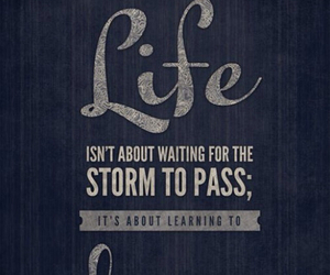 life, quotes, and rain image