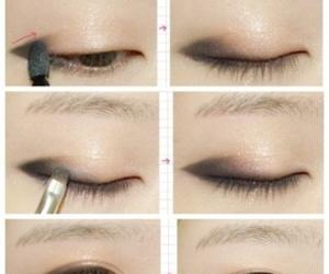 makeup, tutorial, and korean image
