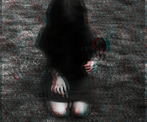 Darkness and girl image