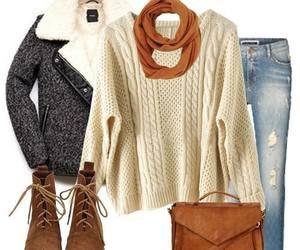 brown, snug, and winter image
