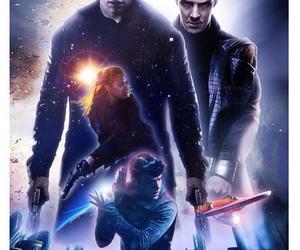 captain kirk, spock, and star trek image