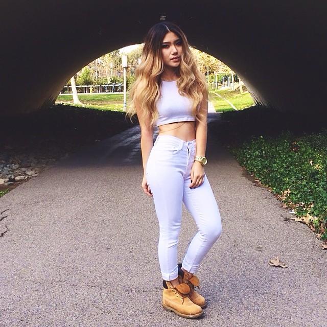 timberland femme instagram