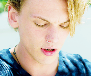 Jamie Campbell Bower and boy image
