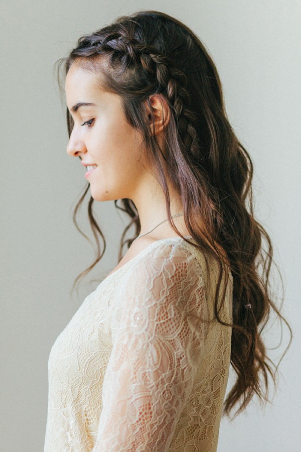 Hair Tutorial How To Do A Braided Half Updo Belle Chicbelle Chic