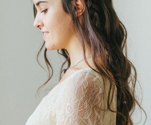 hair styles and braided half updo image