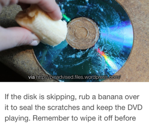 banana, brand new, and dvd image